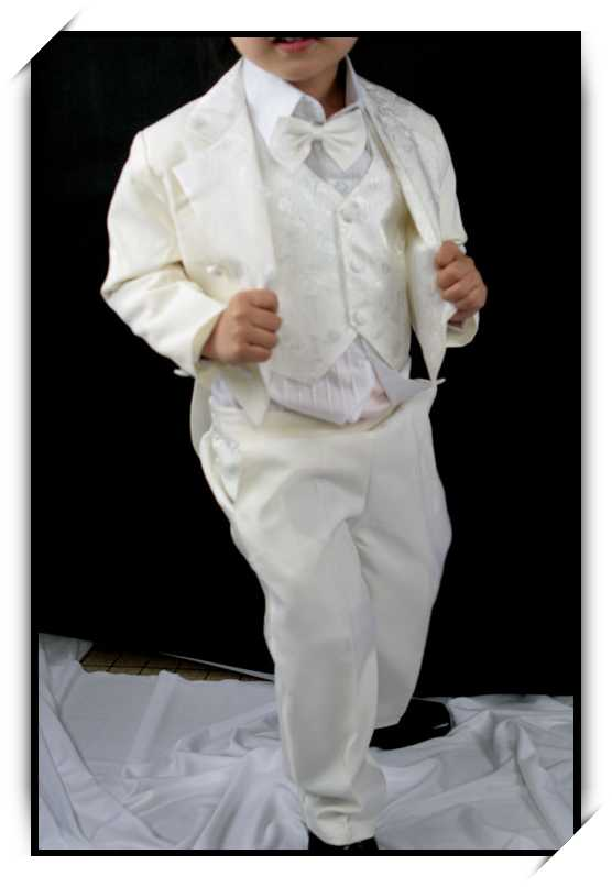 Costume Enfant Gar On Queue De Pie 1 An 12 Mois Mariage Ceremonie Vcs05 Beige Ebay